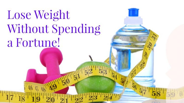 How to lose weight without spending a fortune!